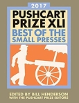 Cover of the 2017 Pushcart Anthology
